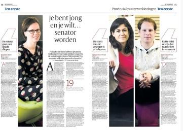 Interview Volkskrant 12 maart 2015